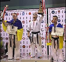 (Español) Eneko Delgado, Campeón de España de Karate Kyokushin