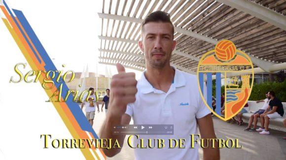 (Español) ⚽️Sergio Arias, primera incorporación del Torrevieja C.F. para la próxima temporada.