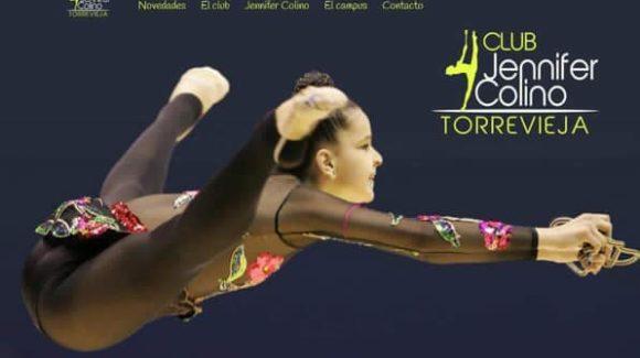 (Español) Exhibición de Gimnasia Ritmica del Club Jennifer Colino de Torrevieja.
