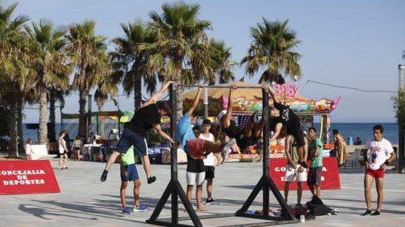 (Español) Street Workout en la Plaza Encarnación Puchol de la Mata
