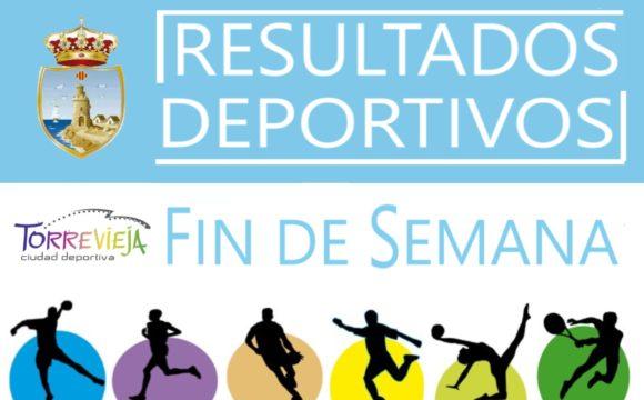 Resultados Deportivos Fin de Semana 28 y 29 de Septiembre