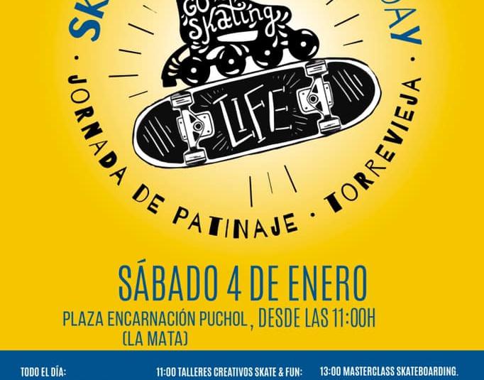 (Español) Jornada de Patinaje en la Mata