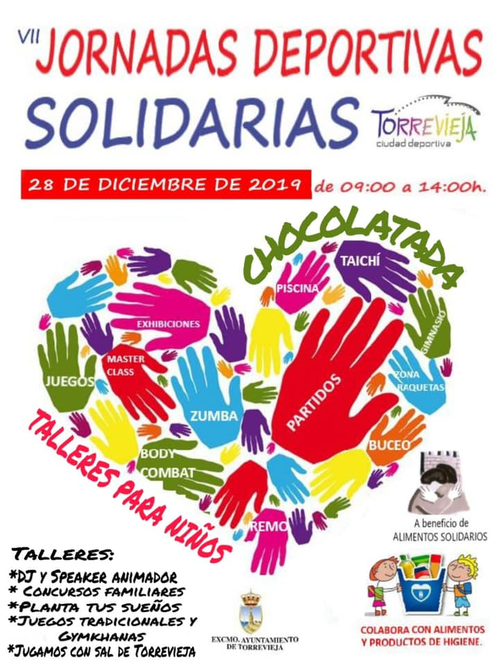 (Español) ❤️Jornadas Deportivas Solidarias