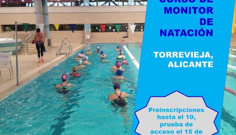 (Español) NUEVO CURSO DE MONITOR DE NATACIÓN DE LA RFEN EN TORREVIEJA.