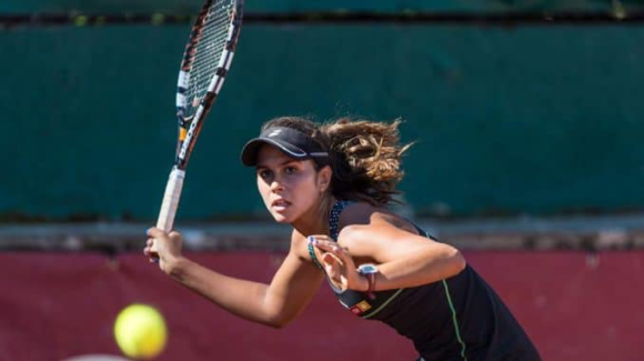 (Español) Eva Guerrero en el Open de Australia