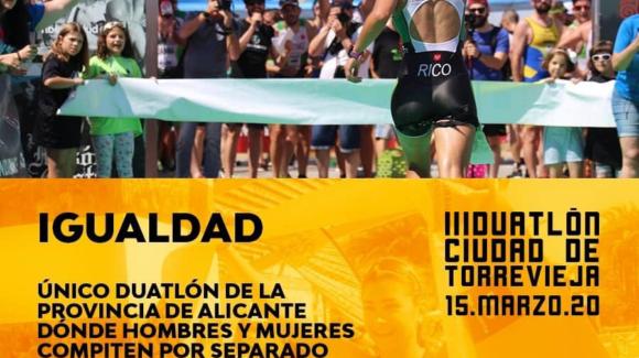 (Español) 🏃🏽♂️🏃🏽♀️ #IGUALDAD en el III #Duatlón Ciudad de #Torrevieja