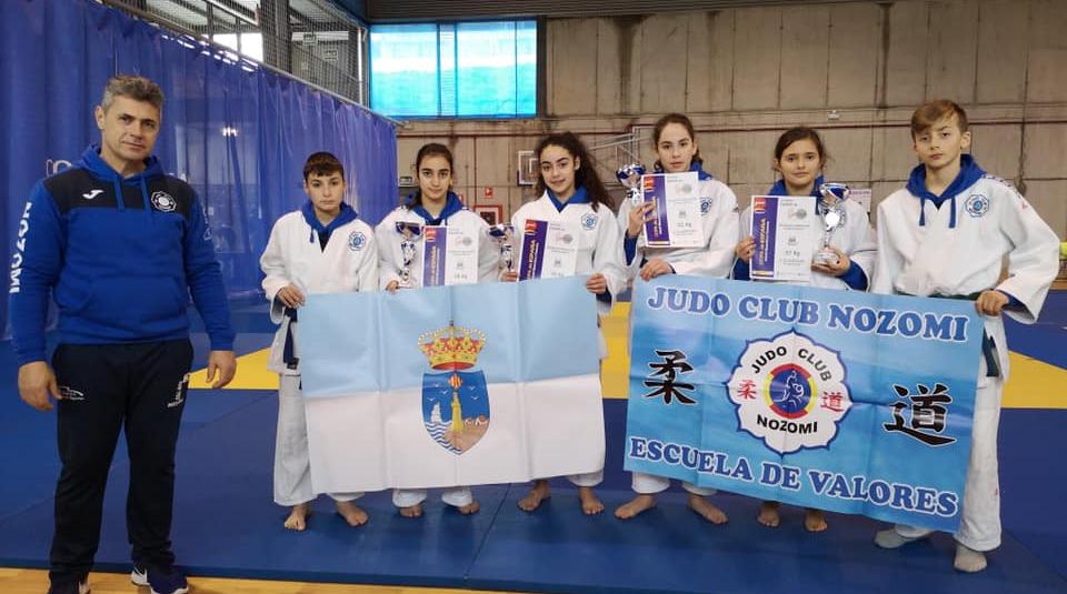 """(Español) 🥋 4 PODIUMS PARA EL JUDO CLUB NOZOMI EN LA COPA DE ESPAÑA """"A"""" DE GALICIA"""