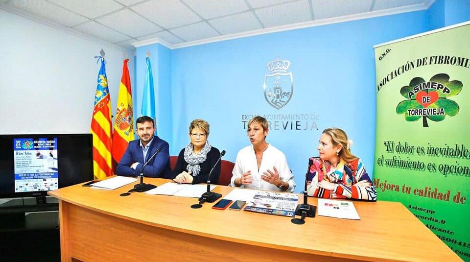 (Español) Presentada la III Carrera-Marcha solidaria de Asimepp para la visibilidad de la fibromialgia.