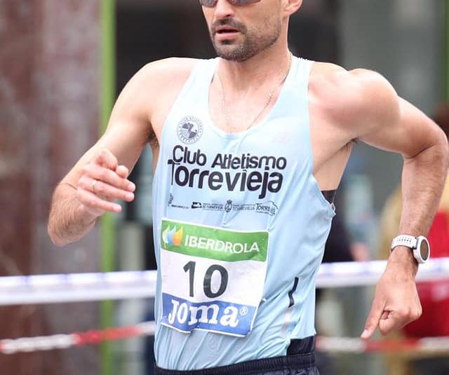 (Español) Corchete campeón autonómico absoluto de marcha en pista sobre la distancia de 5.000m