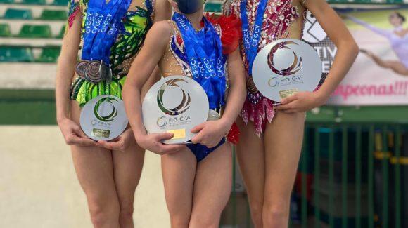 (Español) 🥇Lluvia de medallas para el Club Gimnasia Rítmica Jennifer Colino en el Campeonato Autonómico y Provincial Absoluto Individual👏🏻