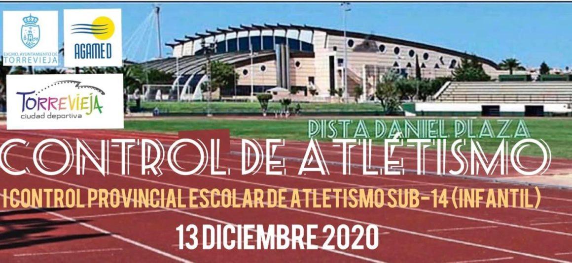 (Español) ♂️I Control Provincial Escolar de Atletismo sub-14 (infantil)