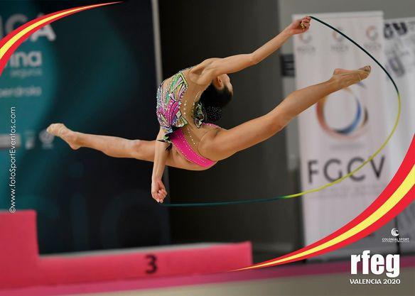 (Español) 🥈🥉🥉Una plata y dos bronces para el Club Gimnasia Rítmica Jennifer Colino en el Campeonato de España Absoluto.