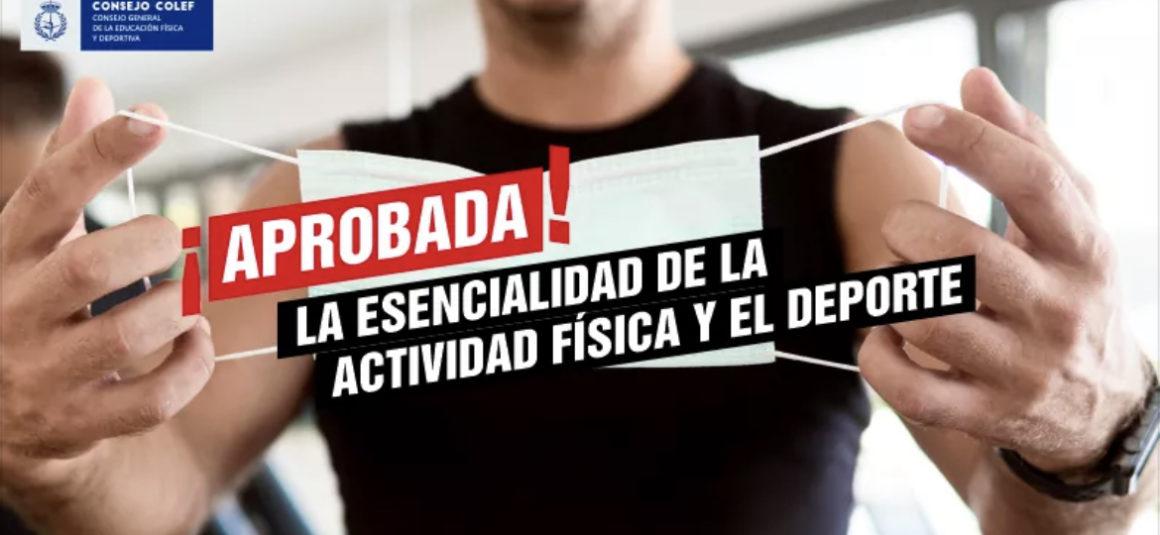 (Español) 👉🏻APROBADO EN EL CONGRESO QUE LA ACTIVIDAD FÍSICA Y EL DEPORTE SE DECLAREN ESENCIALES👈🏻