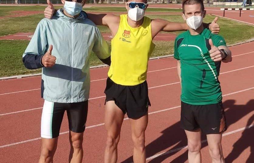 (Español) 🔝Los olímpicos Robert Heffernan y Håvard Haukenes, entrenan en las instalaciones deportivas de Torrevieja junto con nuestro atleta Luis Mánuel Corchete