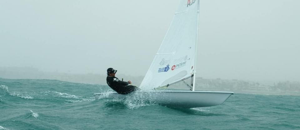 (Español) 🇪🇸Jesús Rogel del RCNT entrena junto al equipo olímpico español y tripulaciones internacionales en Lanzarote💪🏻
