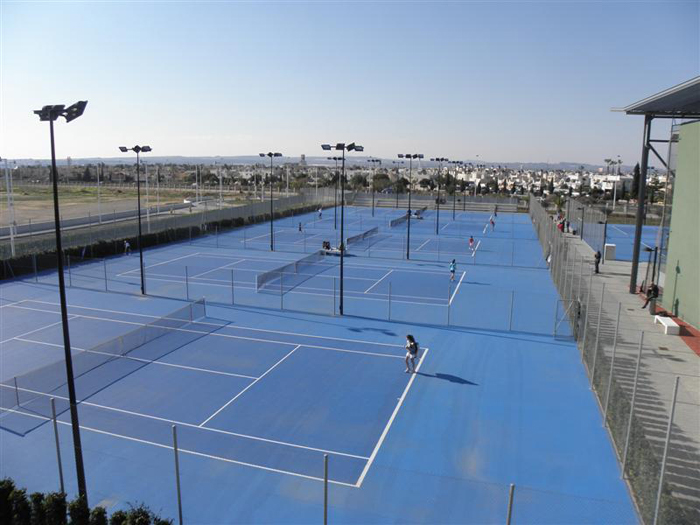 Zona de raquetas