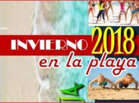 ACTIVIDADES EN LA PLAYA INVIERNO 2018