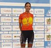 (Español) La Ciclista Torrevejense Sandra Alonso, Campeona de España en Persecución Individual