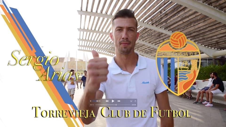 ⚽️Sergio Arias, primera incorporación del Torrevieja C.F. para la próxima temporada.