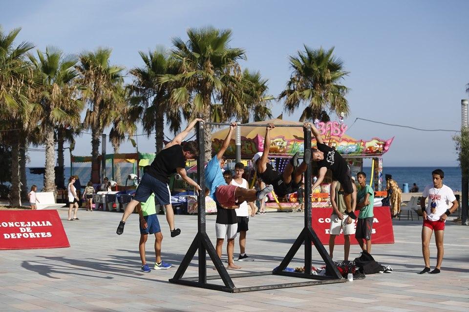 Street Workout en la Plaza Encarnación Puchol de la Mata