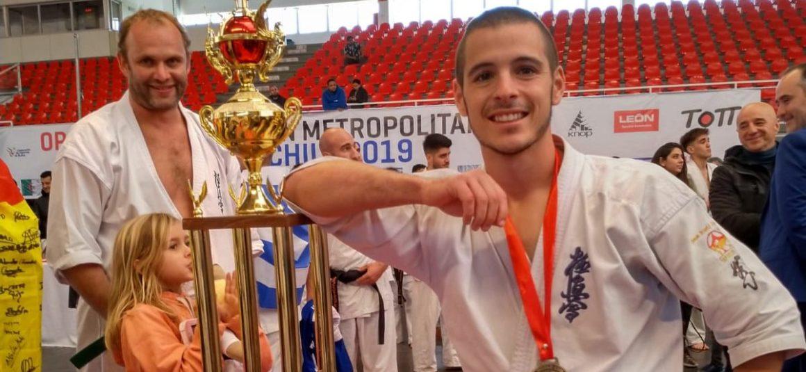 El torrevejense, Eneko Delgado, campeón del mundo de Kárate