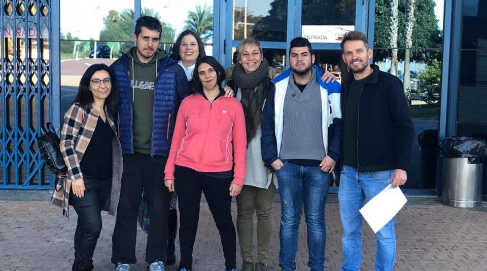 (Español) concejalía de Juventud Deportes, ADL y el centro de educación especial ALPE firman un convenio de prácticas