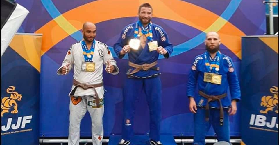 (Español) 🥋 Yury Pashkovich campeón de Europa de Jiu Jitsu brasileño!!