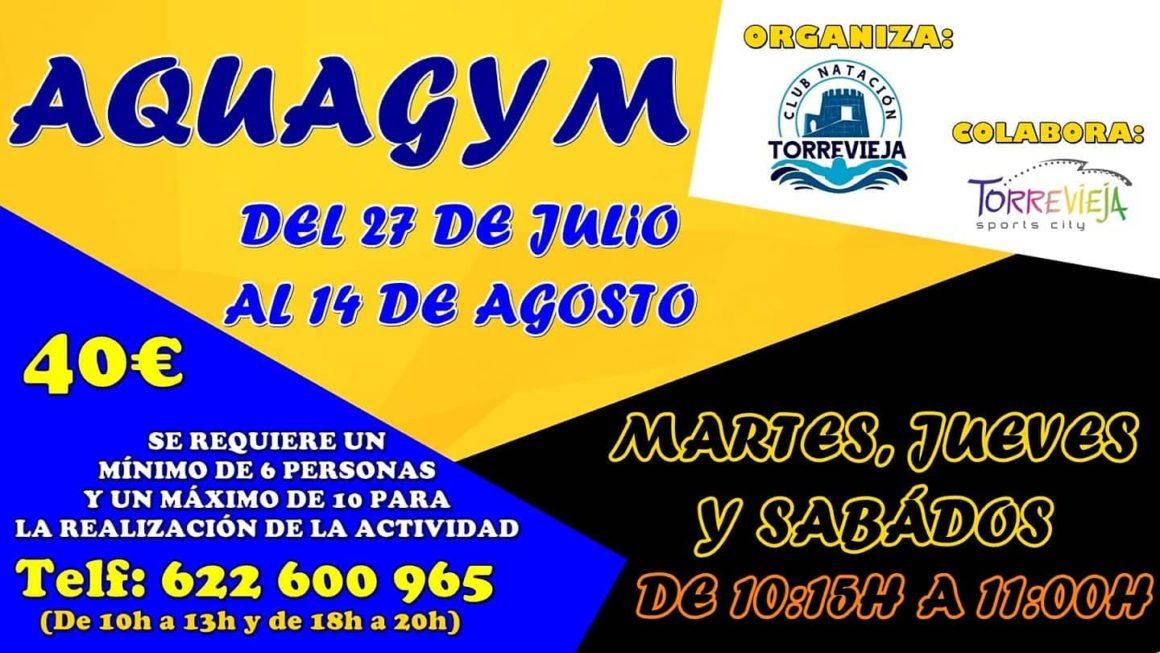 (Español) Nuevos cursos de Aquagym y Aquazumba!!💪🏻