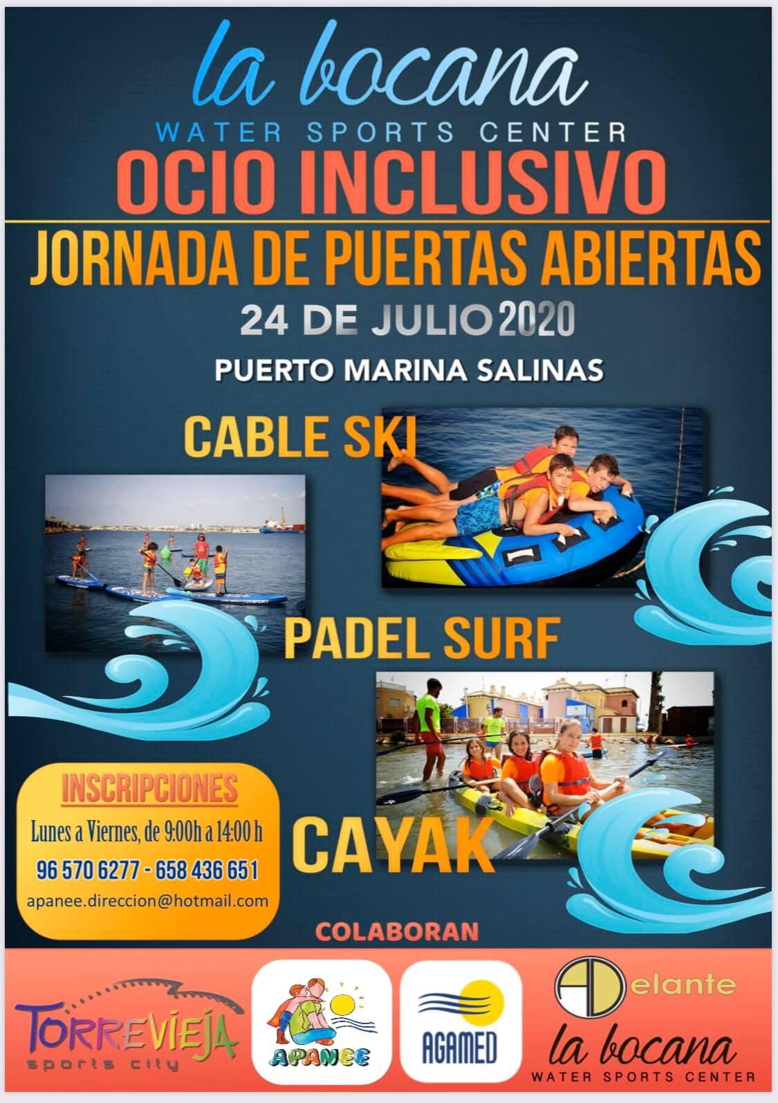 (Español) 🏄♂️Jornada deportiva inclusiva en la Bocana Water Sport Center.☀️