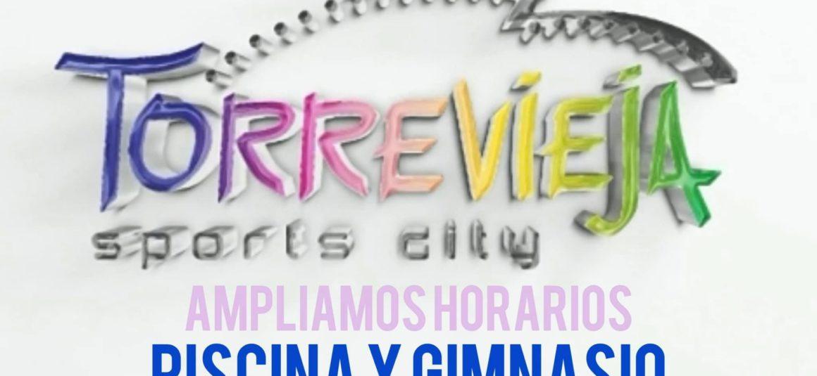 (Español) 📣Mejoramos los horarios de apertura de la Piscina Cubierta y del Gimnasio Municipal‼️🏋️♀️🏊🏻♂️