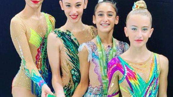 (Español) 🥇 Daniela Picó campeona en cuerda y 🥈 subcampeona en Aro.👏🏻