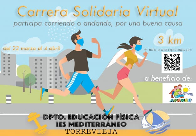 🏃‍♂️Carrera Solidaria Virtual a beneficio de la asociación APANEE!!