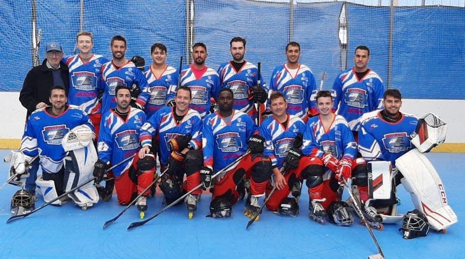 (Español) 📍El sábado 27 de Marzo se celebrarán, en el Pabellón Cecilio Gallego de Torrevieja, 4 partidos de la Liga Plata Nacional de Hockey en Línea en la categoría Senior.