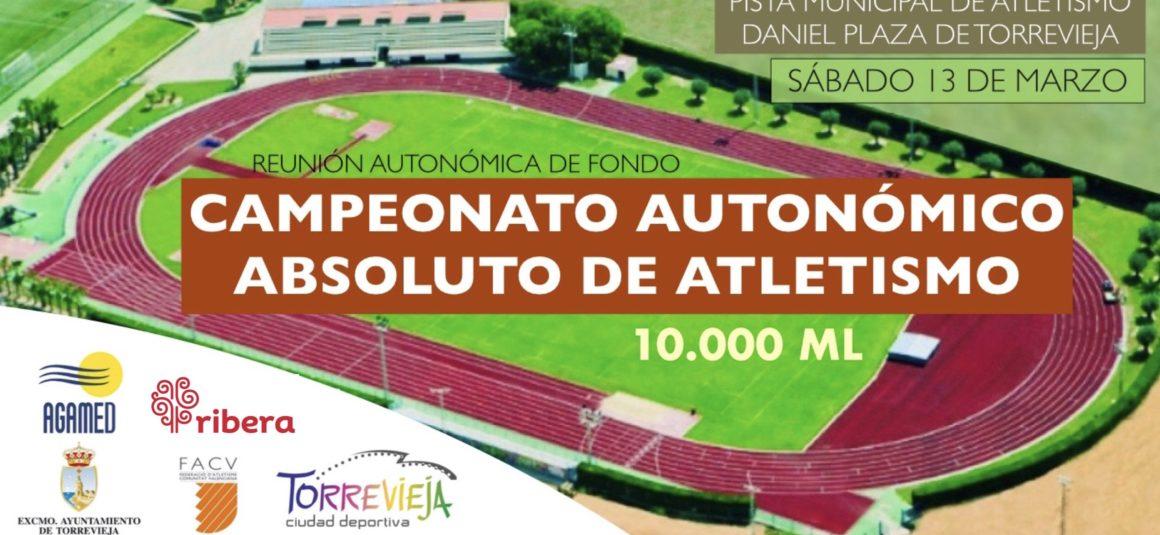 (Español) 🧭 El próximo sábado 13 de Marzo, Torrevieja organizará el CAMPEONATO AUTONÓMICO ABSOLUTO DE ATLETISMO 10000ML🏆