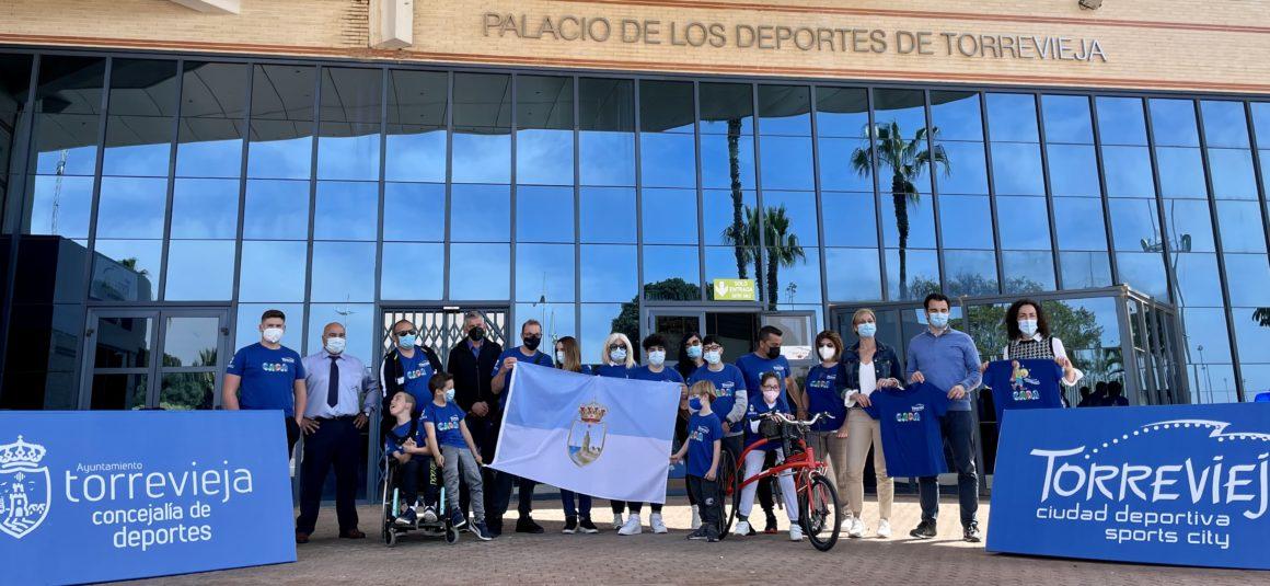 (Español) 🚴♀️🏃♀️Nagore Viudes y 🏃♂️Hugo Aráez de la Escuela Municipal de Deporte Adaptado y Club CADA Torrevieja van camino de Toledo hacia el CAMPEONATO DE ESPAÑA LIBERTY DE PROMESAS PARALÍMPICAS DE ATLETISMO.