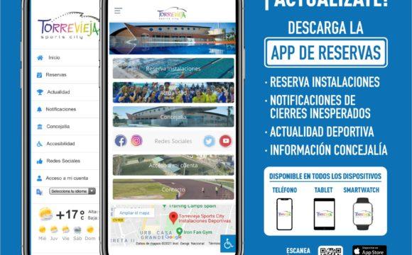 (Español) 📲 TORREVIEJA SPORTS CITY, LA APP PIONERA EN  RESERVA DE INSTALACIONES DEPORTIVAS MUNICIPALES YA ESTÁ DISPONIBLE