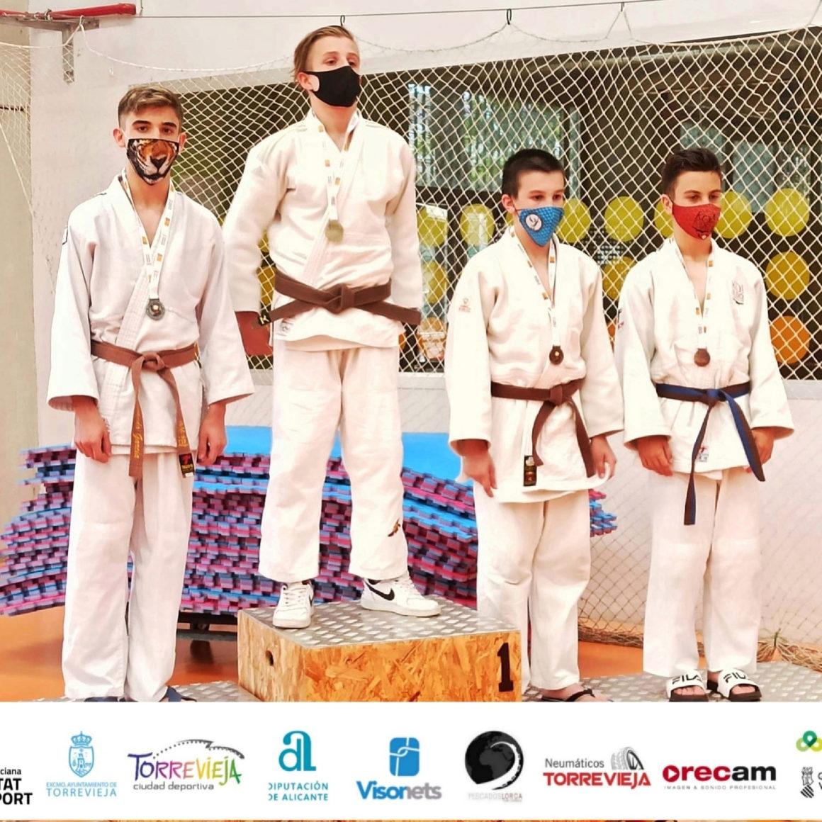 (Español) 🥈Fernando García, del Club de Judo Torrevieja, subcampeón de la Comunidad Valenciana.
