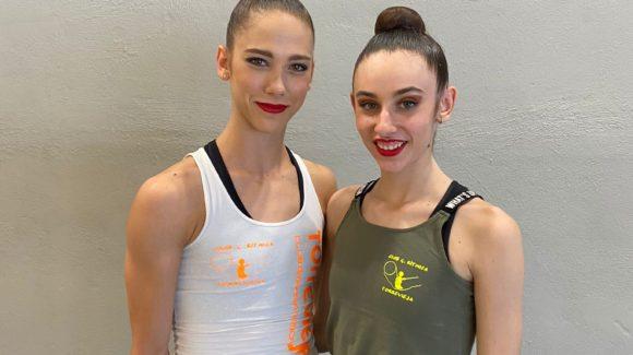 (Español) 🤸♀️🥇POLINA BEREZINA CAMPEONA DE ESPAÑA y BLANCA TOMÁS🎖️QUINTA en primera categoría en el Campeonato de España de Gimnasia Rítmica en Valencia!