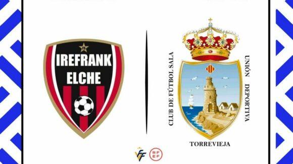 (Español) Partido del CFS Unión Deportiva de Torrevieja contra el Irefrank, mañana en Elche.